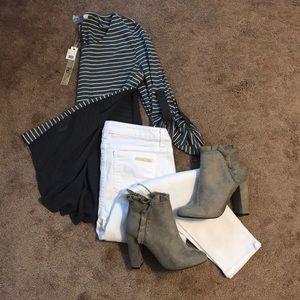 NWT Stripes Shirt
